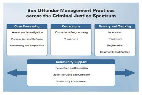 Sex Offender Management Practices Across the Criminal Justice Spectrum